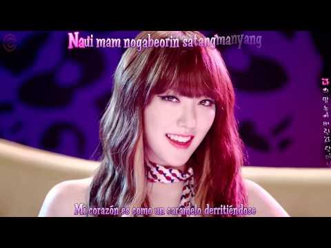 Hello Venus - Sticky Sticky  MV Sub Español - Romanización - Hangul - KARAOKE