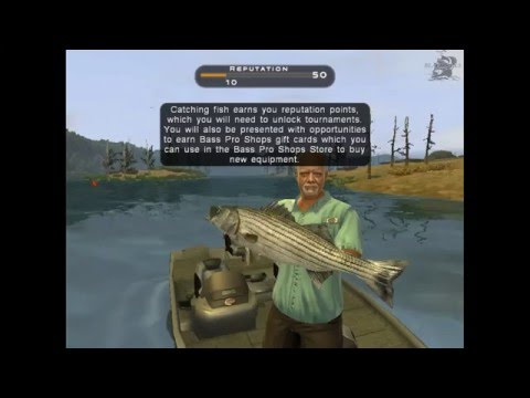 Let's Play Bass Pro Shops: The Strike (fishing PC Game On Steam) 1080p 60fps