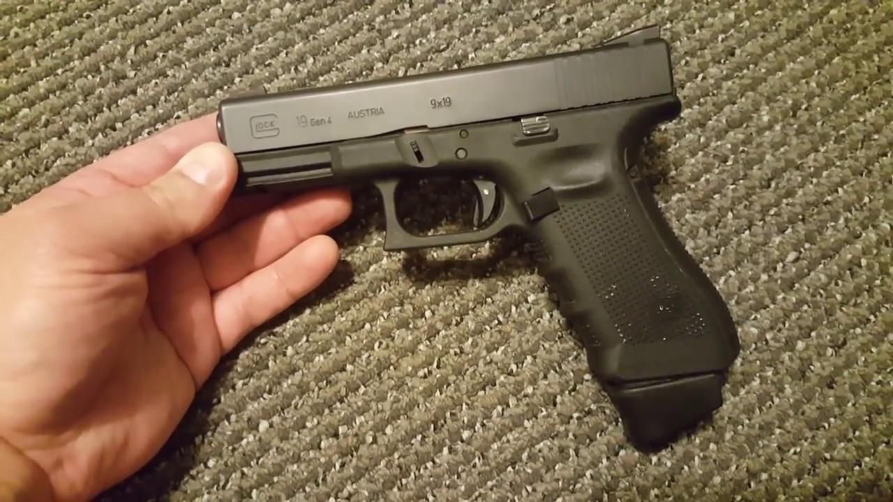 glock g19x 9mm 19 19x 34 17 17l 26 gen 4 3 5 2018 youtube