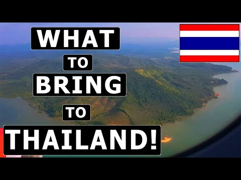 8 Things TO BRING (and NOT TO BRING) to THAILAND! - Packing Guide & Recommendations