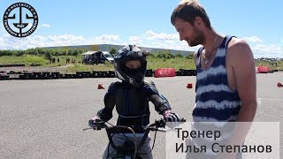 Обучение детей езде на мотоцикле в Мотошколе Мастер на Чемпионате + Мотофесте SBK SPB 2019