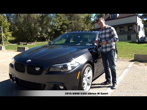 Review: 2015 BMW 535i XDrive M Sport