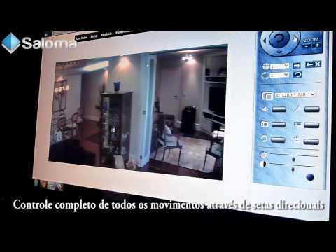 Camera IP Tenvis iProbot3 HD Alta Resolução 720p