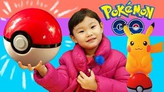포켓몬고를 롯데리아에서 해 보았다! (Play Pokemon Go in Korea)  LimeTube & Toy 라임튜브