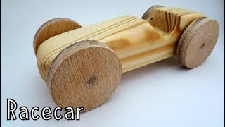 Making wooden toys for charity - Racecar