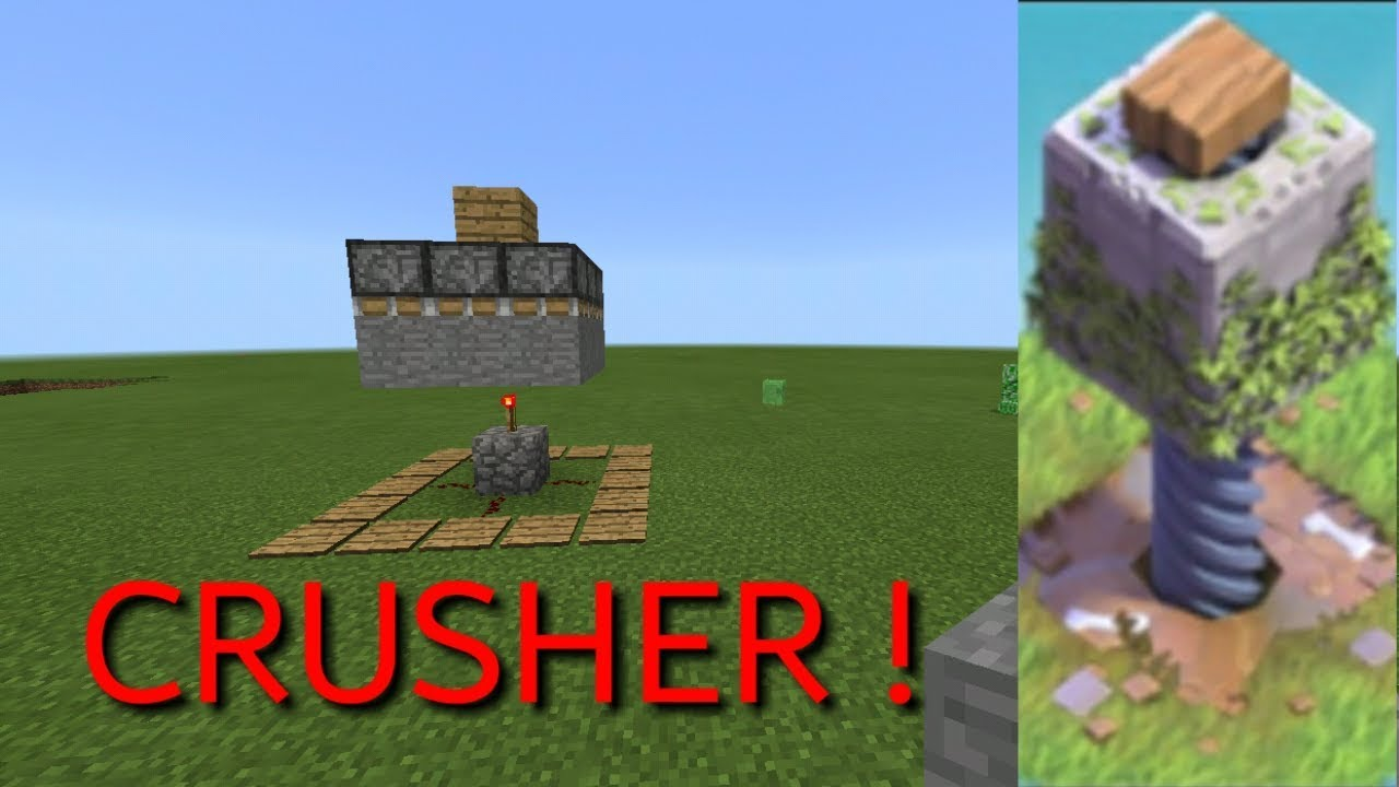 How to make a crusher in Minecraft 76