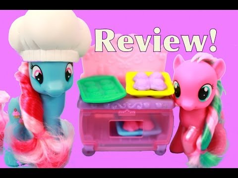 MLP Princess Celebration Bakery Mrs Dazzle Cake Twirly Treats REVIEW My Little Pony AllToyCollector