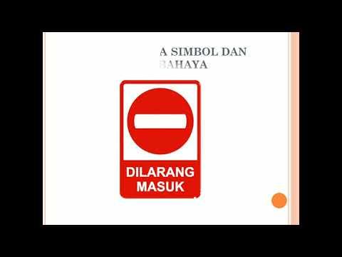 Simbol Dan Tanda Bahaya K3lh Youtube