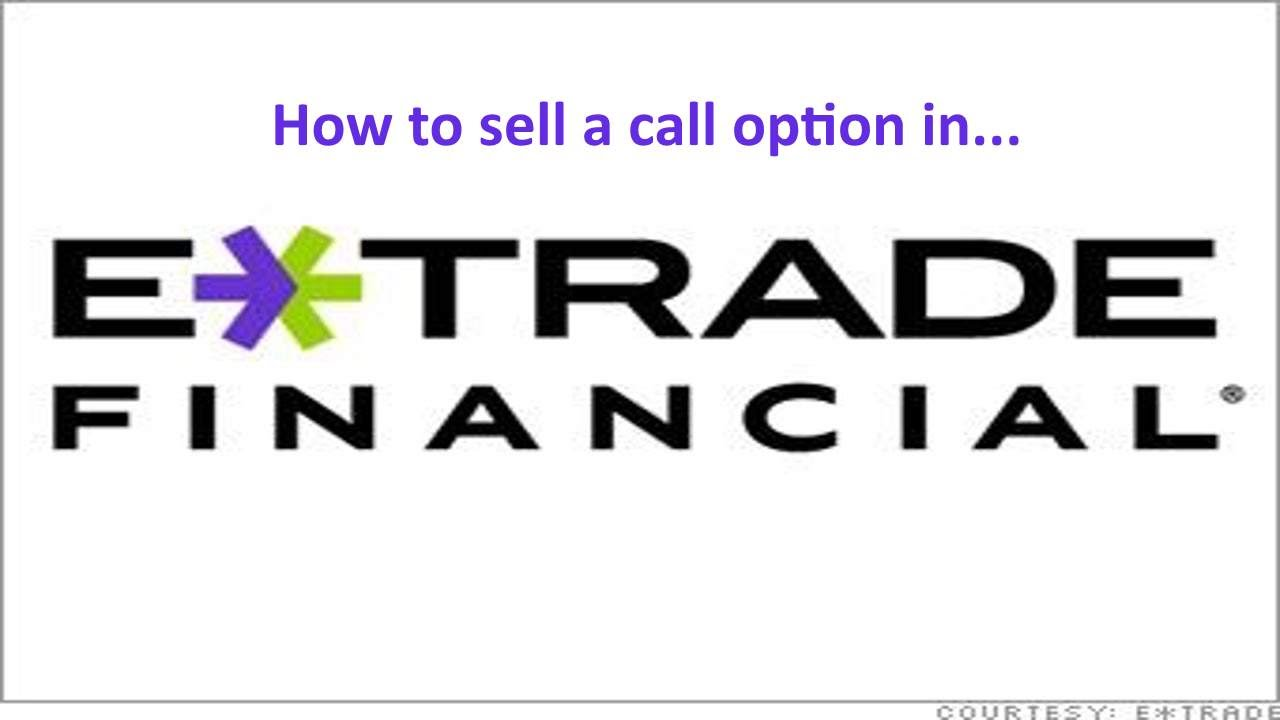 Requirements to trade options etrade