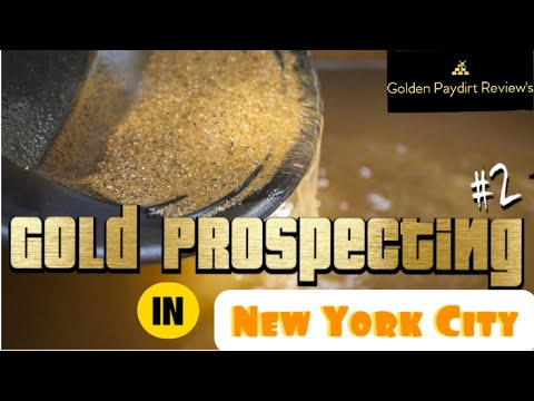 Gold Prospecting In New York City #2, Finding Gold!
