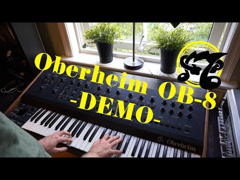 Oberheim OB-8 Sounds and Functions Demo