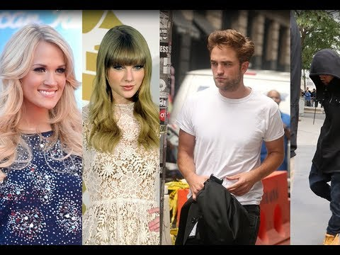 Carrie Underwood and Taylor Swift fighting, Robert Pattinson's Rebound, Rihanna Support Chris Brown!
