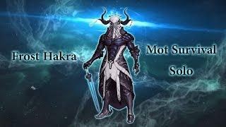 Warframe : Mot Survival Solo - Frost Harka