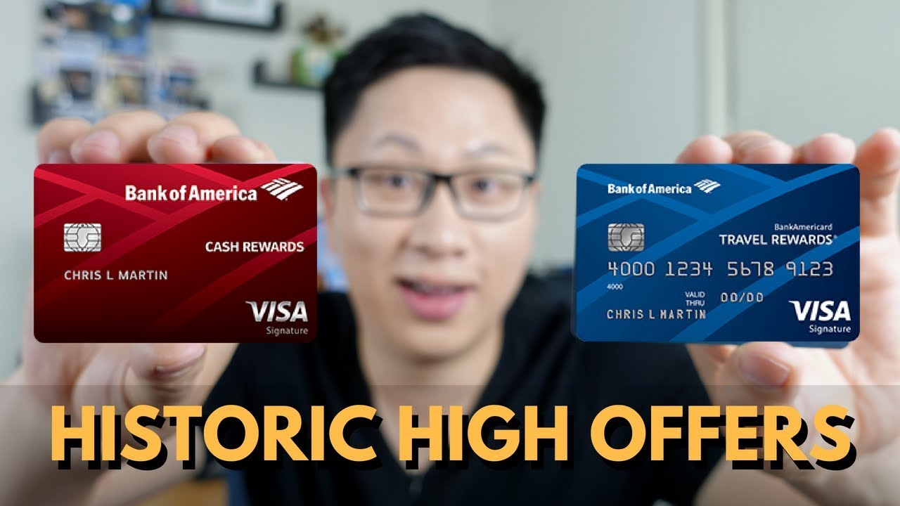 Bank of America Historic High Offers: Cash Rewards ($14) and