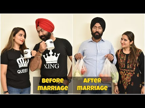 Before Marriage v/s After Marriage | Harshdeep Ahuja