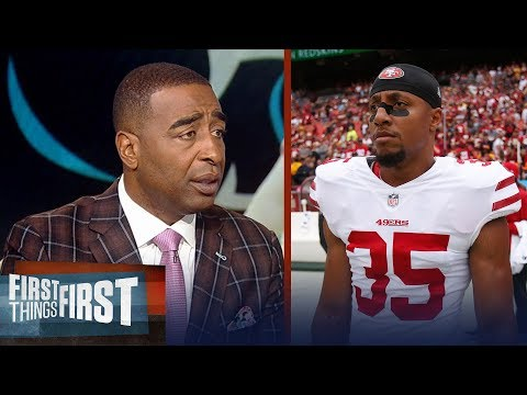 Cris and Nick react to Eric Reid signing 1-year deal with Panthers | NFL | FIRST THINGS FIRST