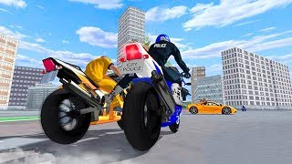 Police Bike - Gangster Chase - Gameplay Android game - motorbike police chase game