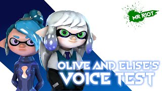 Olive and Elise Voice Test