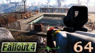 Fallout 4 PS4 Прохождение 64 Пост наблюдения Браво и Потогонка