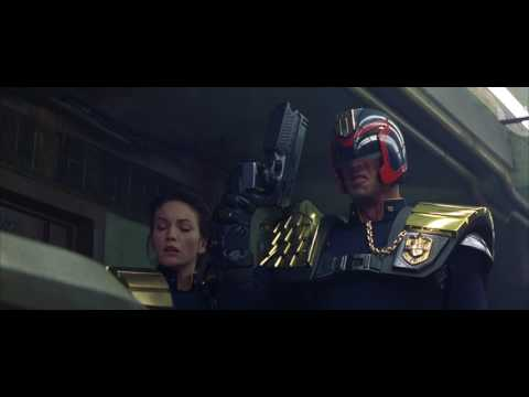 Judge Dredd - Recycled Food Delivery