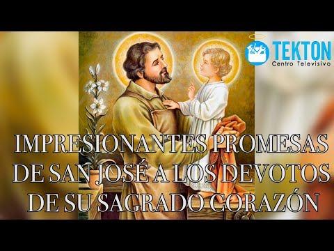 Impresionantes promesas de San José a los devotos de su Sagrado Corazón