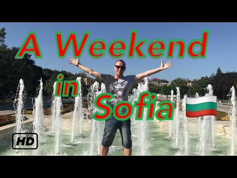 A weekend in Sofia  🇧🇬
