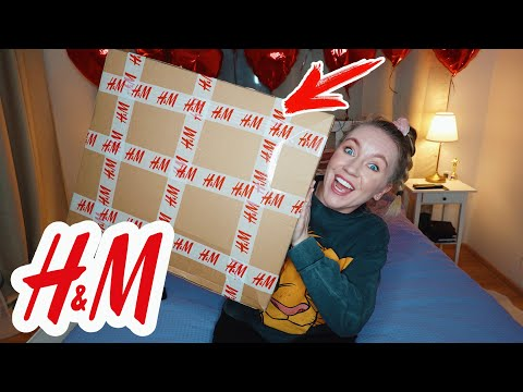 МОЙ ПЕРВЫЗ ЗАКАЗ ИЗ H&M❤️ Распаковка посылки!