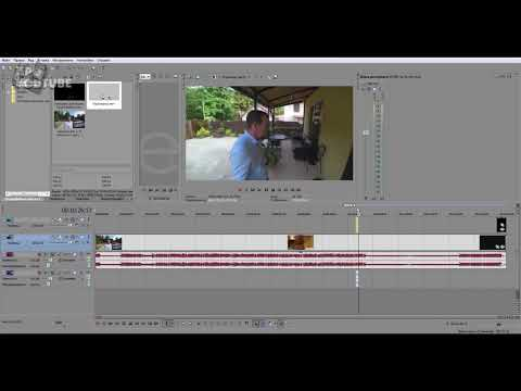 PNG Видео с Прозрачным Фоном в Sony Vegas Pro