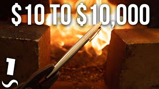 Turning a $10 pen into a $10,000 pen!!! Part 1