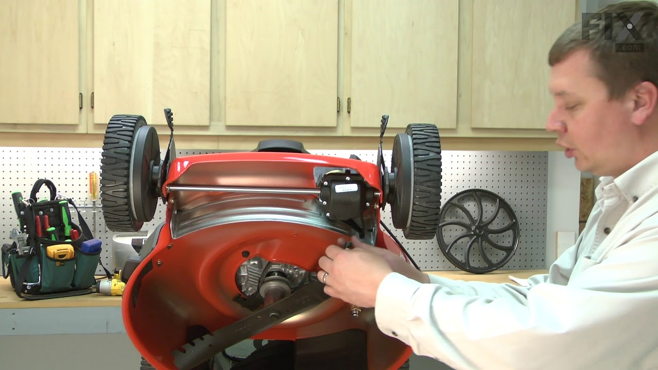 Husqvarna Lawn Mower Repair How To Replace The Drive