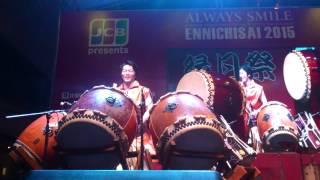 Rasa Sayange (Taiko & Shamisen Version) Ennichisai 2015