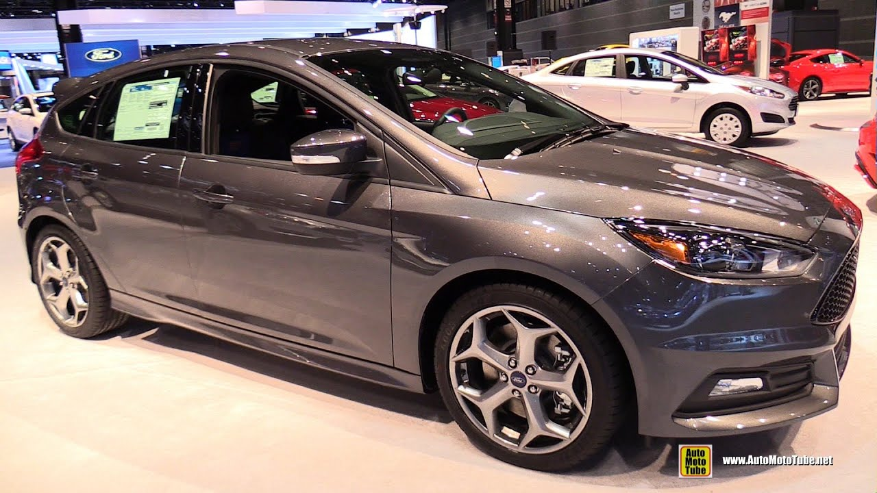 2015 ford focus st exterior and interior walkaround 2015 chicago auto show