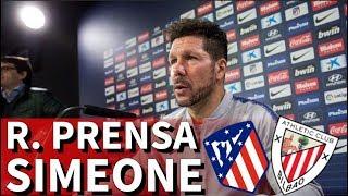 Atlético-Athletic | Rueda de prensa de Simeone I Diario AS