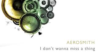 Secuencia Aerosmith - I don't want to miss a thing por $30 pesos