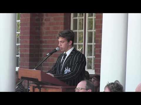 Selborne College - Ceremony Of The Key 2018
