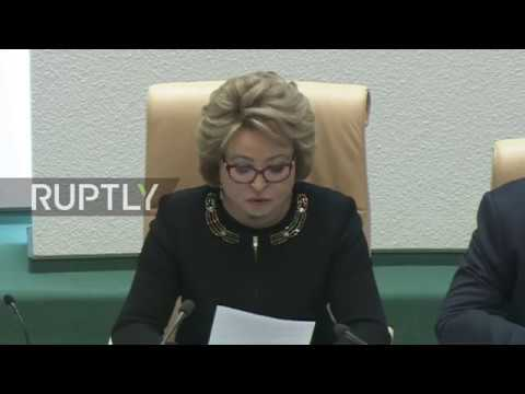 Russia: Federation Council backs withdrawal from plutonium deal with US