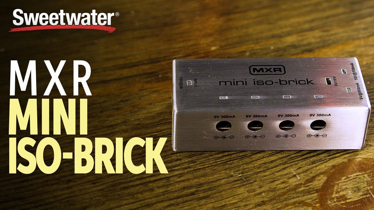 MXR M239 Mini Iso-Brick Pedalboard Power Supply Overview