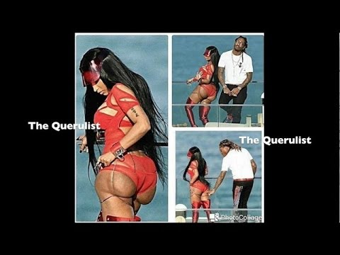 Nicki Minaj Ass Fell Off On Set and Future Couldn't Resist Showing The World