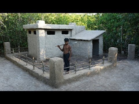 Building Technology: Build Fence and Gate around Mud Hut