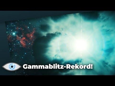 Wahnsinns-Rekord: Stärkste Gammastrahlen-Ausbrüche überhaupt Nachgewiesen!