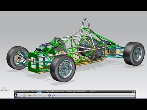 FORMULA 1 chassis - YouTube