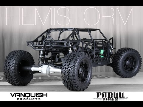 The World's LARGEST AXIAL RC - VANQUISH & PITBULL