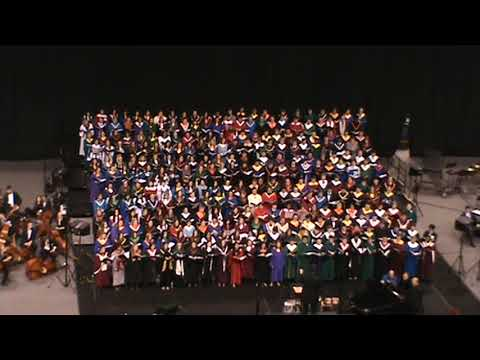 2018 Illinois All-State Honors Chorus performing Sing a New Song