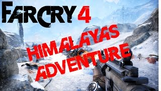 FAR CRY 4 PS4 Gameplay | Best moments vol.3 - Himalayas adventure
