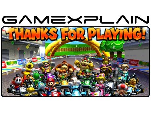 Mario Kart 7 - Ending and Credits (Nintendo 3DS) - YouTube