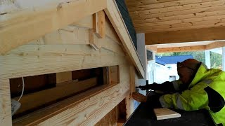Exterior wood siding is done at #jarleifhouse!
