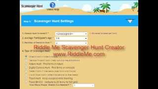 Riddle Me - Create a Scavenger Hunt