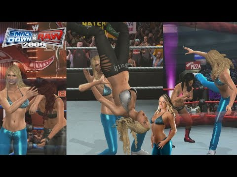 Smackdown vs Raw 2009 | Kelly Kelly Stole Finisher All Divas from YouTube · Duration:  11 minutes 35 seconds