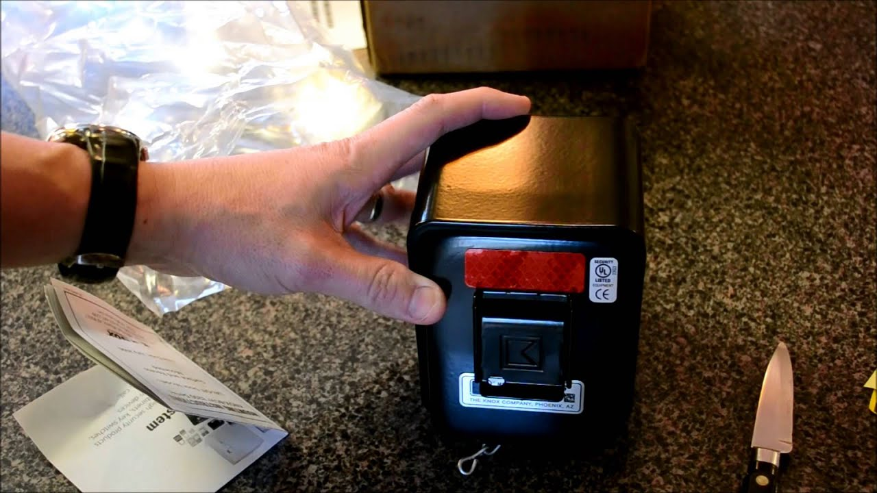 knox box 3200 rapid entry system unboxing [ 1280 x 720 Pixel ]