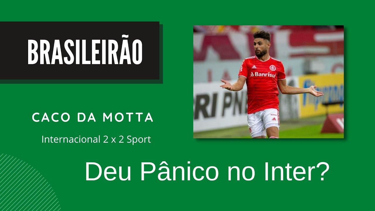 Deu pânico no Inter?